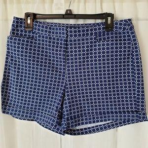 Soho Women's Checkers Shorts Side Pockets Size 14